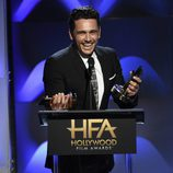 James Franco en la gala de los Hollywood Film Awards 2017