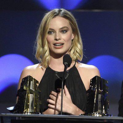Margot Robbie en la gala de los Hollywood Film Awards 2017