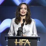 Angelina Jolie en la gala de los Hollywood Film Awards 2017