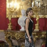 La Reina Letizia en la cena de gala en honor al presidente de Israel, Reuven Rivlin