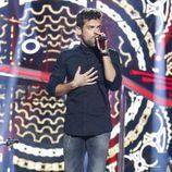 Ricky actuando en la Gala 2 de 'Operación Triunfo 2017'