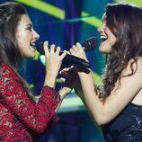 Ana Guerra y Amaia cantando en la Gala 2 de 'Operación Triunfo 2017'