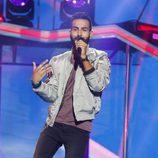 Juan Antonio cantando en la Gala 2 de 'Operación Triunfo 2017'