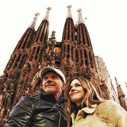 Antonio Banderas con su hija Stella del Carmen de viaje en Barcelona