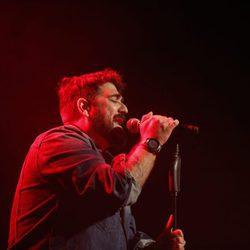 Antonio Orozco actuando en Alcobendas con su gira 'Destino'
