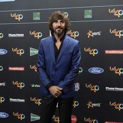 Santi Millán en la alfombra roja de los 40 Principales Music Awards 2017