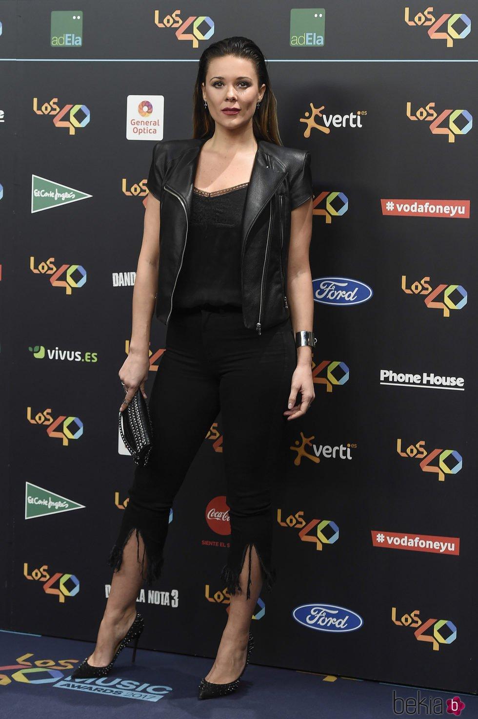 Lorena Gómez en la alfombra roja de los 40 Principales Music