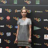 Ana Fernández en la alfombra roja de los 40 Principales Music Awards 2017