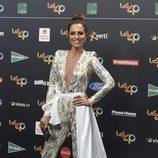 Paula Echevarría en la alfombra roja de los 40 Principales Music Awards 2017