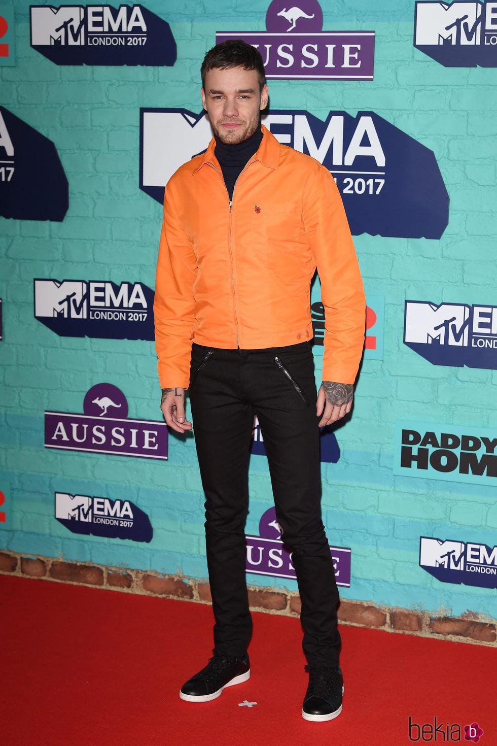 Liam Payne en los MTV EMA 2017