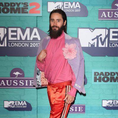 Jared Leto en los los MTV EMA 2017