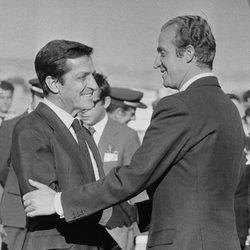 El Rey Juan Carlos y Adolfo Suárez en su madurez