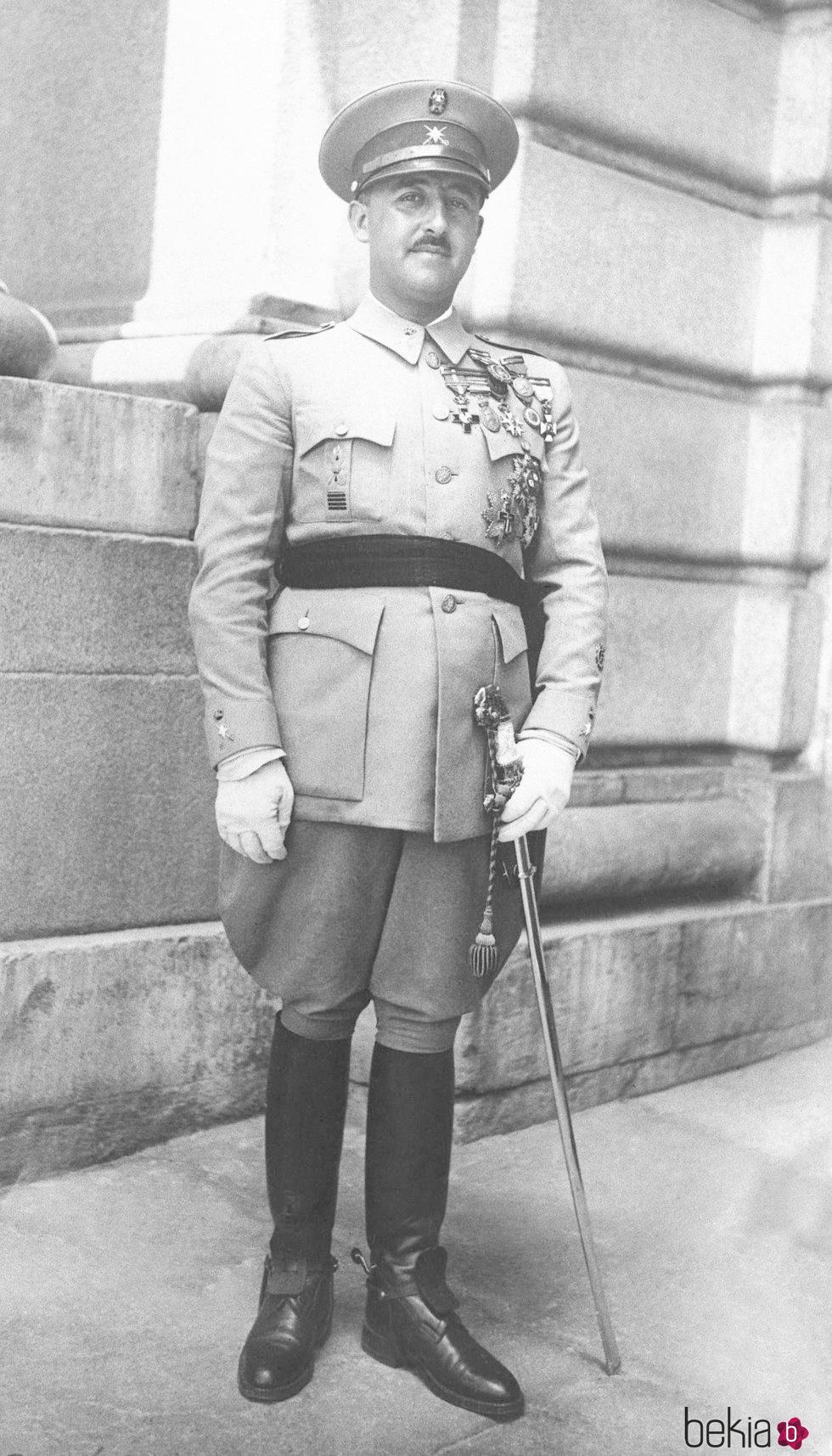 Francisco Franco antes de la Guerra Civil