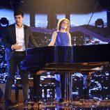 Amaia y Alfred durante la Gala 3 de 'Operación Triunfo'