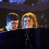 Amaia y Alfred cantando 'City of stars' en la Gala 3 de 'Operación Triunfo'