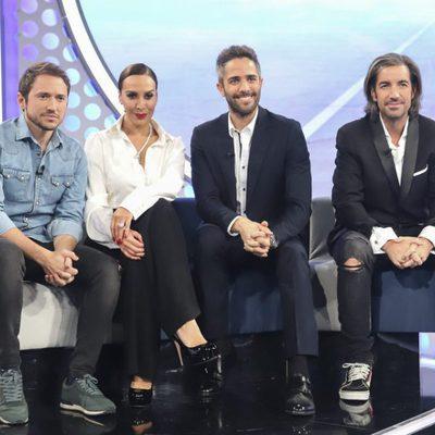 El jurado de 'Operación Triunfo' en la Gala 3