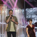 Cepeda y Marina en la Gala 3 de 'Operación Triunfo'