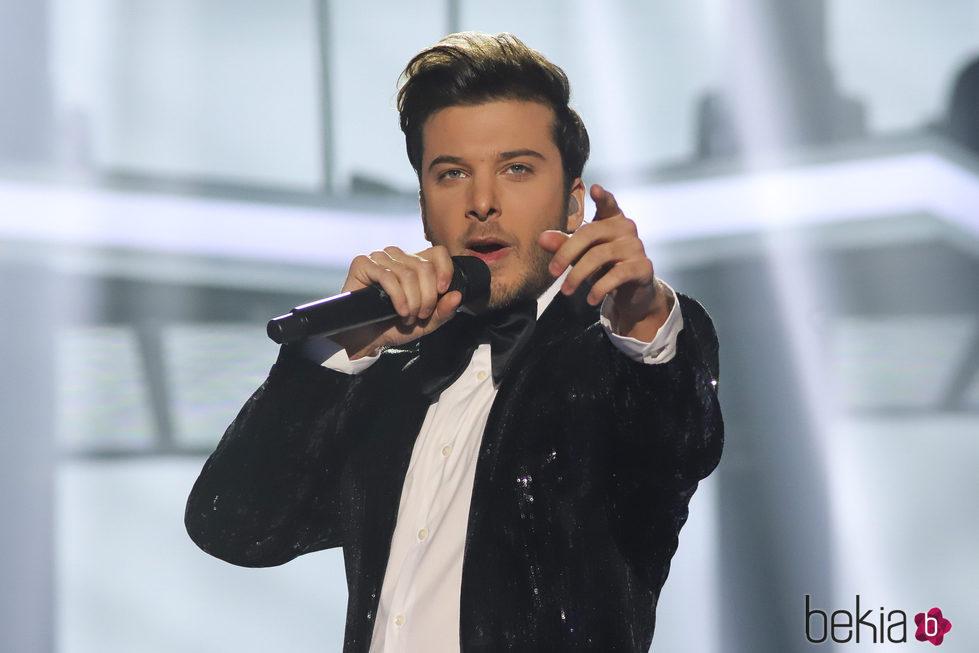 Blas Cantó en la Gala 3 de 'Operación Triunfo'