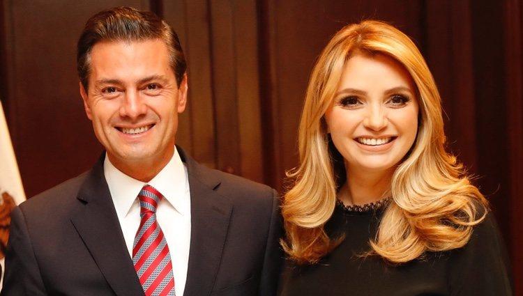 La Reina Letizia en una reunión con Enrique Peña Nieto y Angélica Rivera en Los Pinos