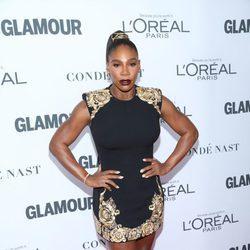 Serena Williams posa por primera vez tras dar a luz