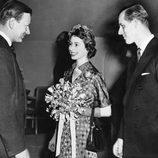 La Reina Isabel y el Duque de Edimburgo en 1951