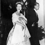 La Reina Isabel y el Duque de Edimburgo en su juventud