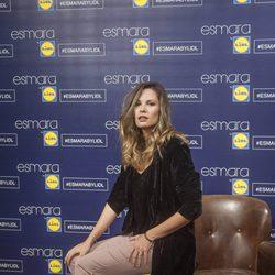 Jessica Bueno como imagen en la presentación de la colección Esmara by Lidl en Madrid