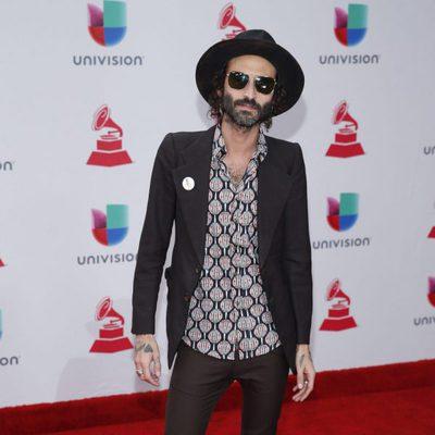 Leiva en la entrega de los Grammy Latino 2017