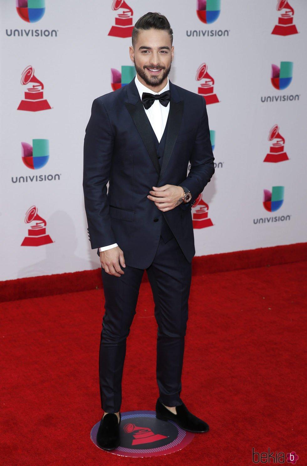 Maluma en la entrega de los Grammy Latino 2017