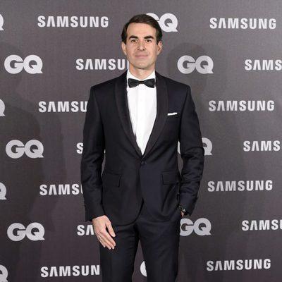 Daniel Muriel en los Premios GQ hombre del año 2017