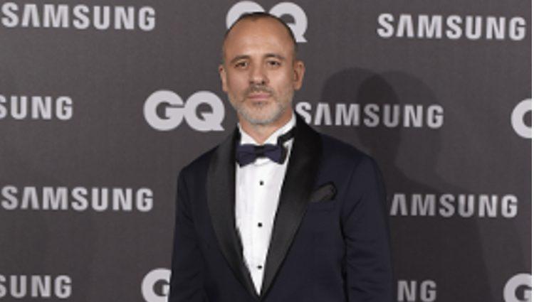 Javier Gutiérrez en los Premios GQ hombre del año 2017