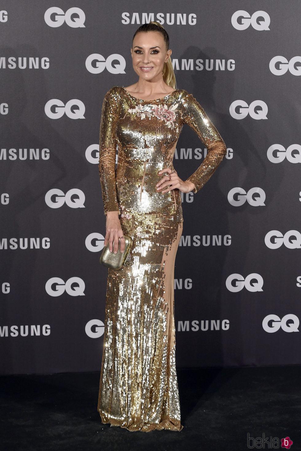 Berta Collado en los Premios GQ hombre del año 2017