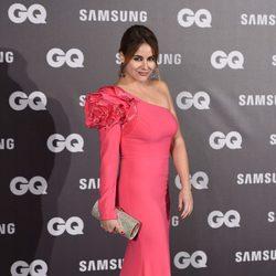 Mónica Hoyos en los Premios GQ hombre del año 2017