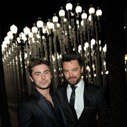 Zac Efron y Dominic Cooper en la gala homenaje a Clint Eastwood en Los Angeles