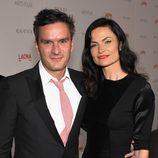 Balthazar y Rosetta Getty en la gala homenaje a Clint Eastwood en Los Angeles