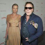Mickey Rourke y Anastassija Makarenko en la gala homenaje a Clint Eastwood