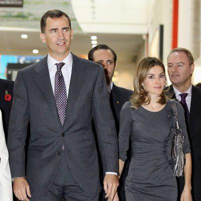 Don Felipe y Doña Letizia durante su visita oficial a Londres