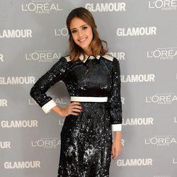 Jessica Alba en los premios Glamour de Nueva York