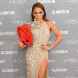 Jennifer Lopez fue galardonada con el premio Glamour 'Mujer del Año'