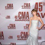 Taylor Swift en los CMA Awards 2011
