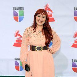 Carla Morrison en la alfombra roja de los Grammy Latinos 2011