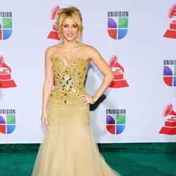 Shakira en los Grammy Latinos 2011
