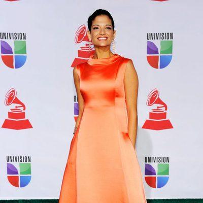 Natalia Jiménez en los Grammy Latinos 2011