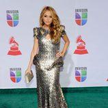 Paulina Rubio en los Grammy Latinos 2011