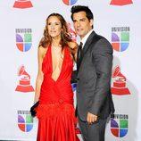 Cristian de la Fuente y Angelica Castro en los Grammy Latinos 2011