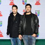 José Manuel y David Muñoz, Estopa, en los Grammy Latinos 2011