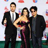 Álex Ubago, Lena Burke y Jorge Villamizar en los Grammy Latinos 2011