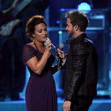Actuación de Demi Lovato y Pablo Alborán en los premios Grammy Latino 2011