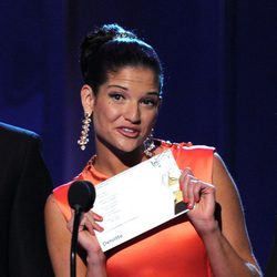 Natalia Jiménez en los premios Grammy Latino 2011