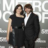Malena Alterio y Fernando Tejero en la premiere de 'Cinco metros cuadrados'